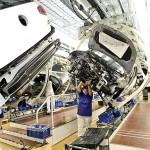 Volkswagen Werk Wolfsburg/Produktion Golf, Montage
