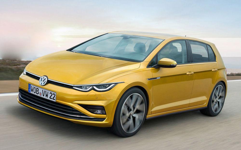 Volkswagen Golf получит новый движок