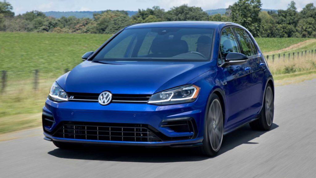 Новый Volkswagen Golf R