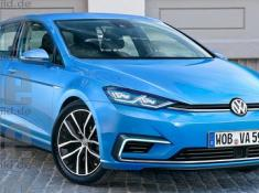 Volkswagen Golf 8 выйдет в 2017 году...