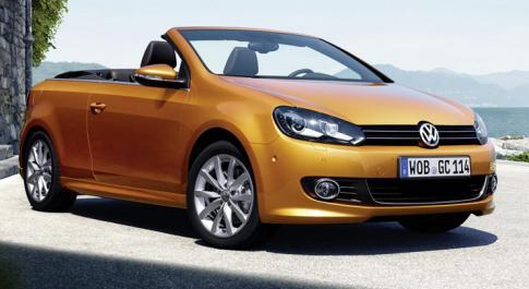 VW презентует Golf 7 Cabriolet на Франкфуртском автосалоне в сентябре