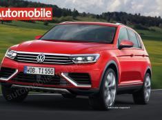 Новый VW Tiguan 2016: шпионские фото и видео